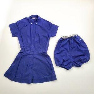 Vitage Phys Ed Gym Dress Uniform Bloomers Costume